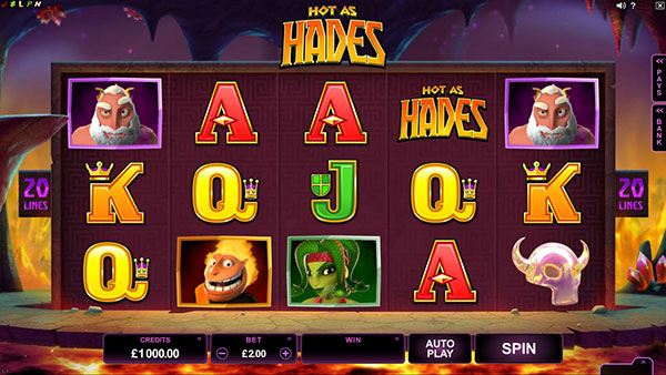 online slots bonus hades symbol