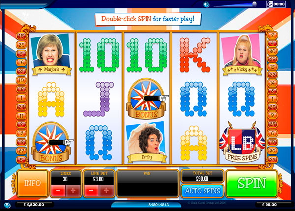 Little Britain Online Slot Game