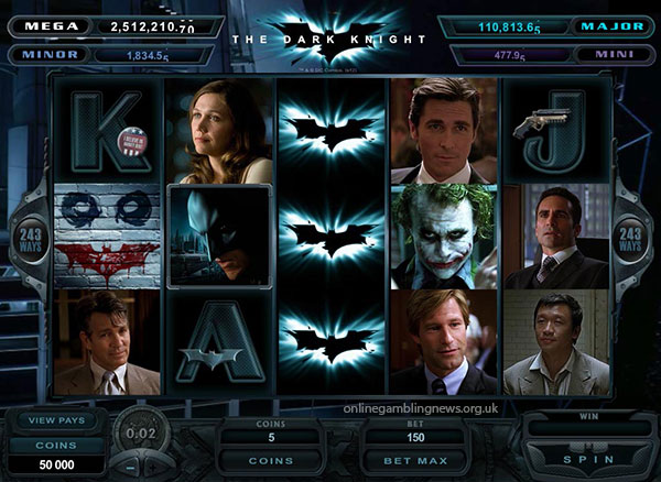 Dark Knight Slot Game