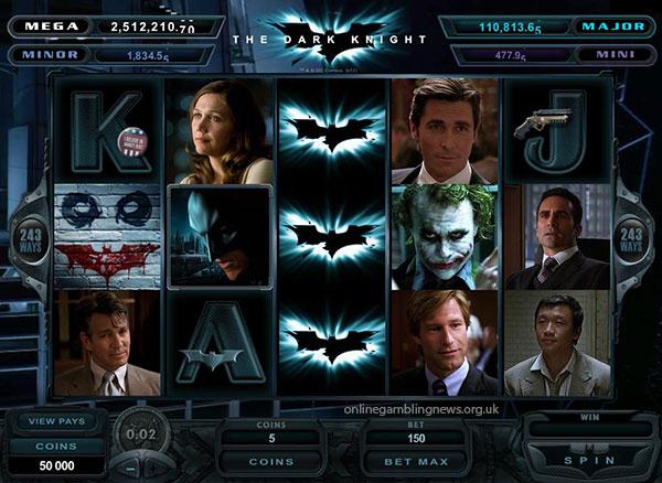 Dark Knight Slot Game