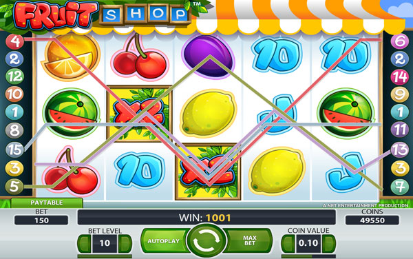 Fruit Shop Online Video Slot Game