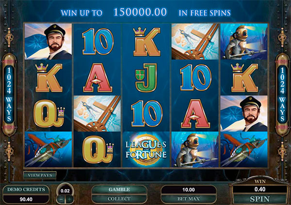 Leagues of Fortune Online Slot Game