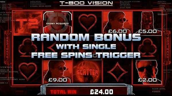 Terminator 2 Online Slot Bonus
