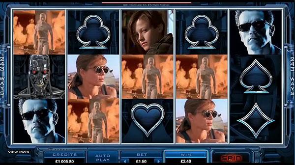 Terminator 2 Online Slots Microgaming